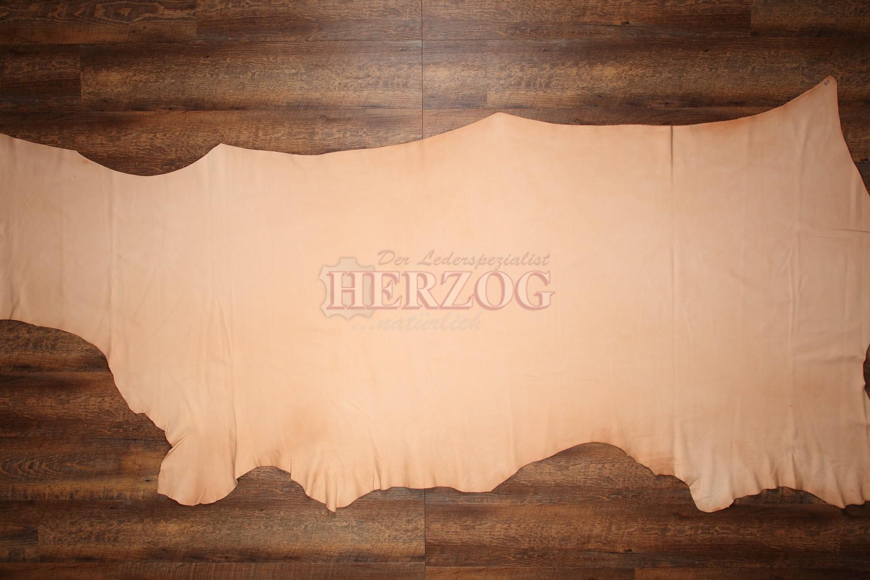 Herzog Rindnappaleder (1/2 Haut, fleischfarbig)